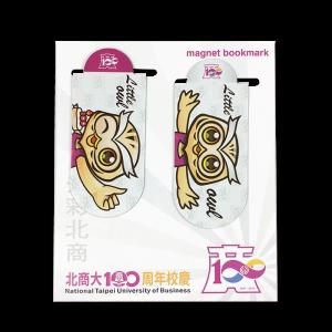 臺北商大兩入磁鐵書籤(百年吉祥物)